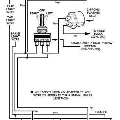 Turn Signal Wiring Diagram 3 Gang Dimmer Switch Uk How To Add Signals And Wire Them Up 1