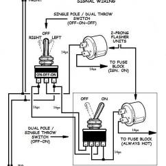 Electronic Flasher Unit Wiring Diagram Sea Ray Warranty 12 Volt 2 Wire Circuit Schematic How To Add Turn Signals And Them Up Led