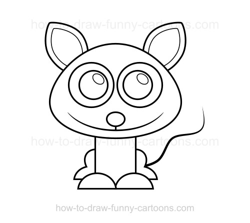How To Draw Cute Cartoon Animals