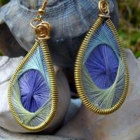 STRING ART EARRINGS