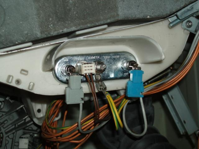Oven Element Wire Diagram For One How To Fit The New Element And Thermostat To This Bosch
