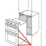 How to remove your built in oven from a kitchen unit.
