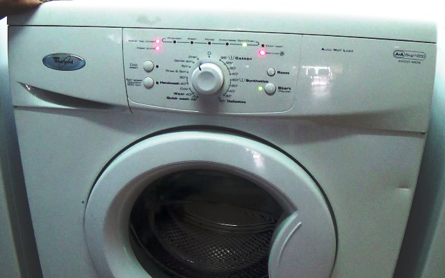 Whirlpool AWOD  AWD Series Washing Machine Error Fault Codes
