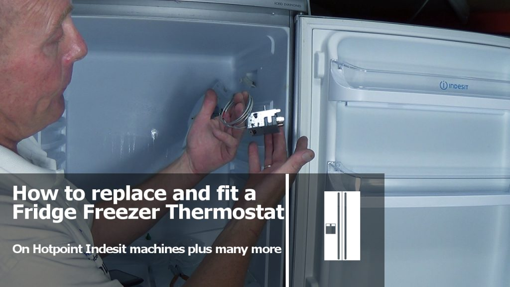 Ge Dryer Wiring Diagram How To Replace Fridge Freezer Thermostat On Hotpoint Indesit