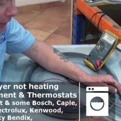White Knight Tumble Dryer Heater Element Wiring Diagram 1992 Honda Accord Radio Not Heating Check Thermostats