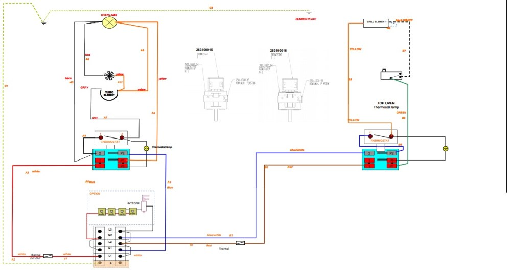 medium resolution of i have listed all the major parts below that are to do with the heating circuit i have also included a wiring diagram on this cooker