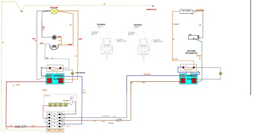 small resolution of i have listed all the major parts below that are to do with the heating circuit i have also included a wiring diagram on this cooker