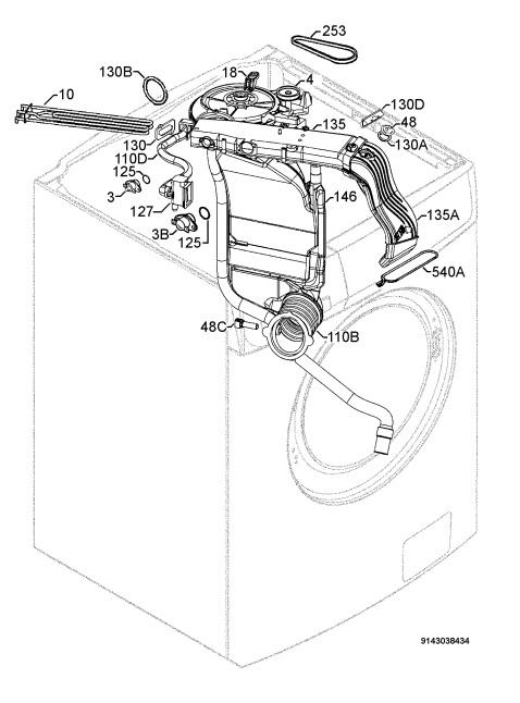 How to Repair   Zanussi Washer Dryer ZWD16270W