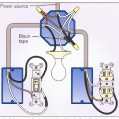 Ceiling Fan Wiring Diagram Two Switches L14 30p Plug A 2-way Switch