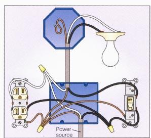 Ceiling Fan Light Wiring Diagram One Switch Wiring A 2 Way Switch