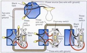 Wiring a 4way switch