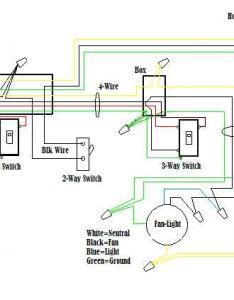 Wire  ceiling fan way switch diagram also installing switches rh tvetacademy