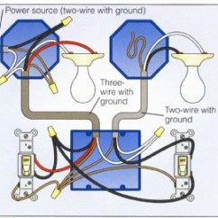 Installing A 3 Way Switch With Wiring Diagrams 1982 Honda Z50r Diagram 2-way