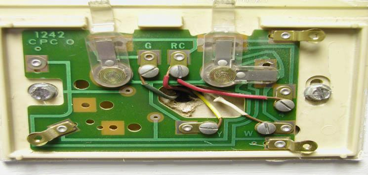 Thermostat Wiring Diagram Colors