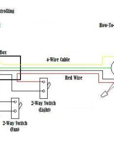 Wire  ceiling fan and light diagram also rh how to it