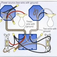 Light Switch Wire Diagram Ge Powermark Gold Load Center Wiring A 2 Way With Lights