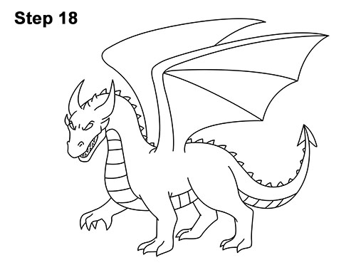 How To Draw Dragons Html