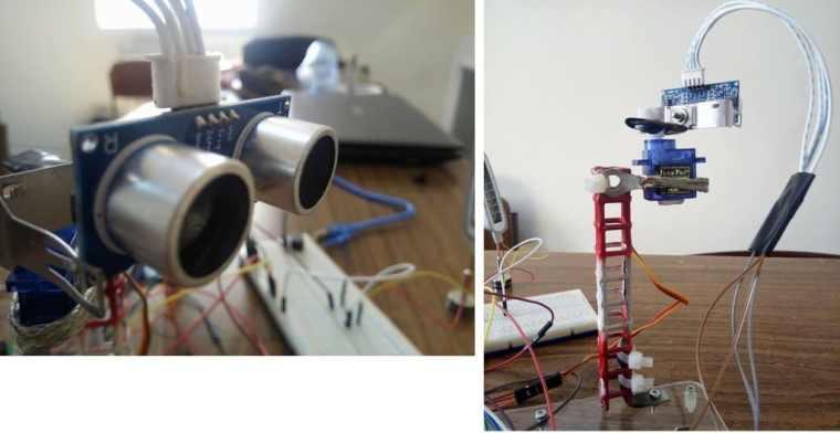 Arduino RADAR Model using Ultrasonic Sensor
