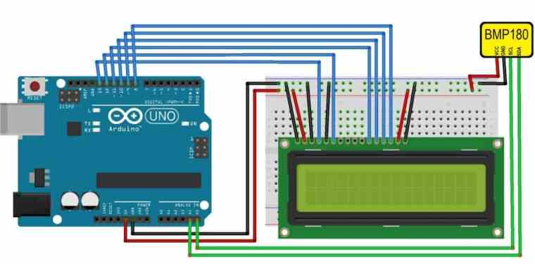 Interface BMP180 Sensor with Arduino