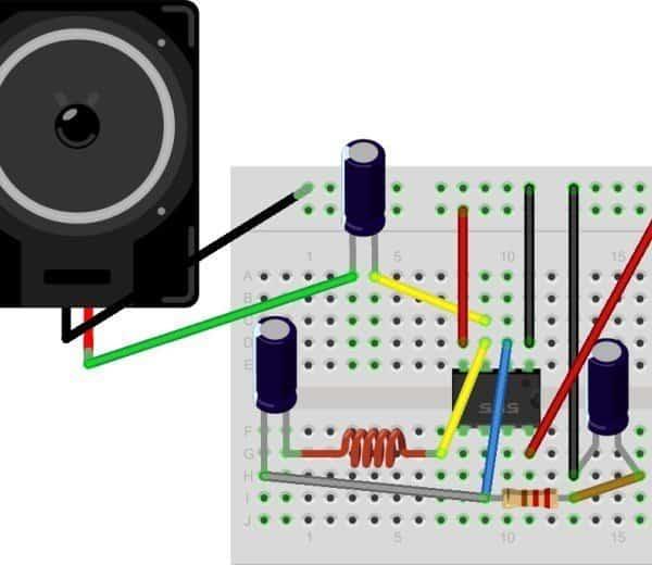 Simple Metal Detector using 555 Timer Circuit – Electronics