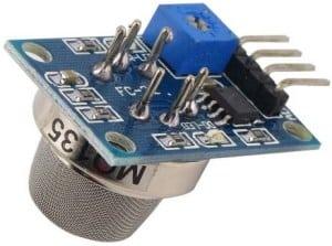 Alcohol Level Meter using Arduino & MQ-135 Alcohol/Gas Sensor