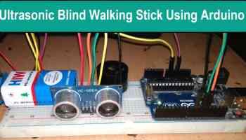 Arduino Radar Distance Sensor