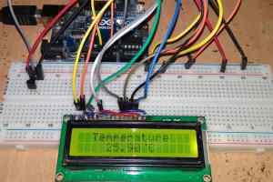 Digital Thermometer Using Arduino & LM35 Temperature Sensor