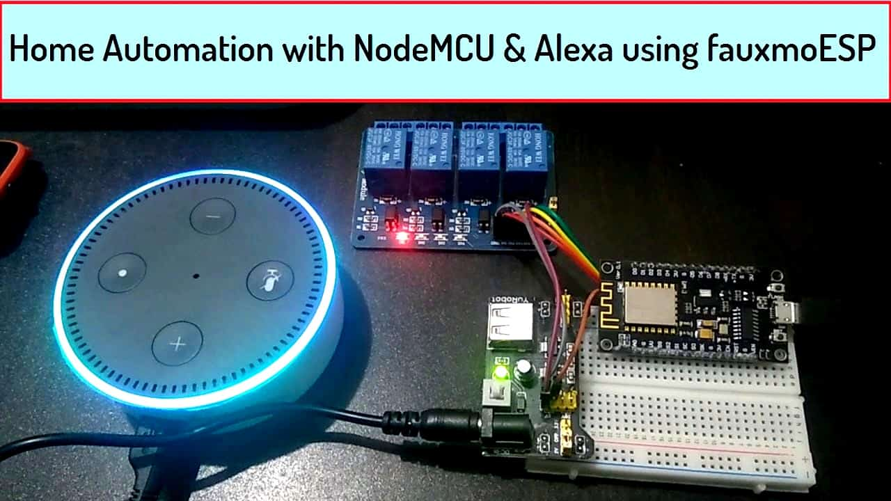 Voice Based Home Automation Celbridge Cabs Bluetooth Circuits4youcom With Nodemcu Alexa