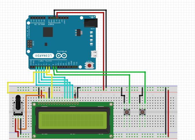 Stopwatch Using Arduino & LCD
