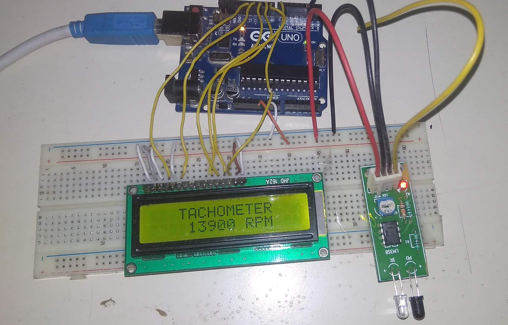 Tuned Infrared Ir Detector Circuit Electronic Circuit Projects