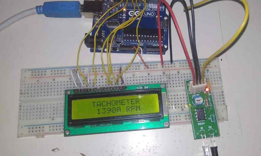 Fan Speed Measurement using IR Sensor & Arduino