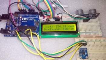 Acceleration Measurement with Accelerometer ADXL335 & Arduino