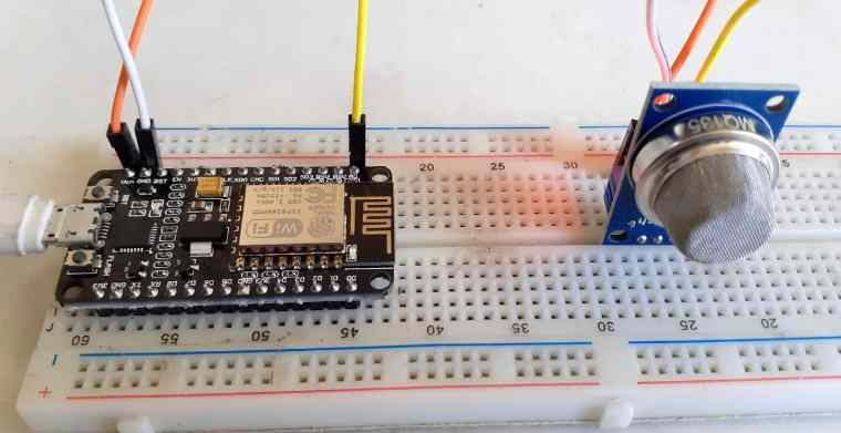 Gas Level Monitoring Over IOT
