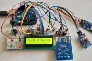 RFID RC522 Attendance System Arduino