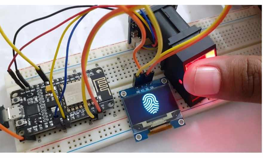 IOT Based Biometric Fingerprint Attendance System using NodeMCU