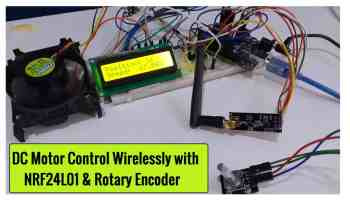 ESP8266 & nRF24L01 based Wireless Temperature Humidity
