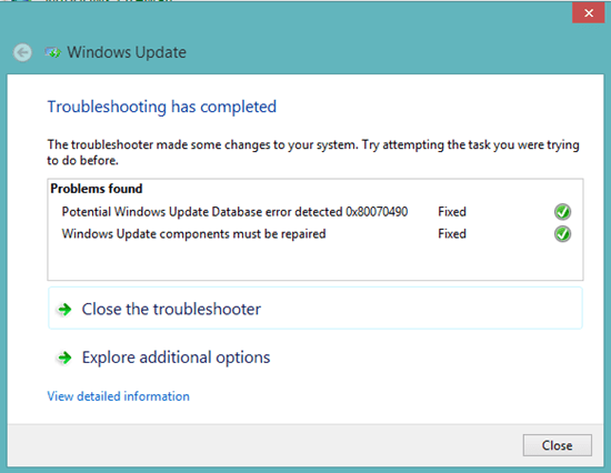 troubleshooting-windows update