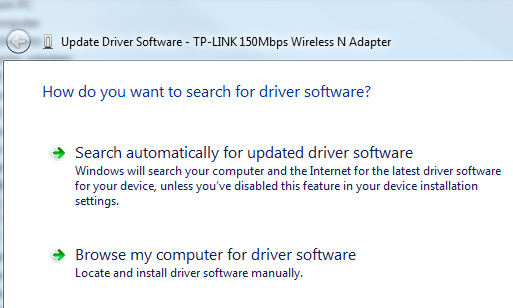 update-driver-software