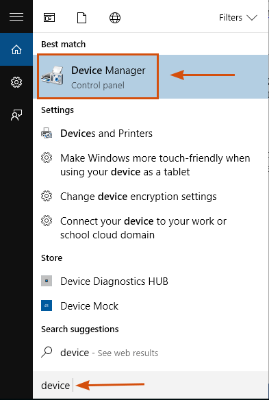 Fix Device Manager Error \
