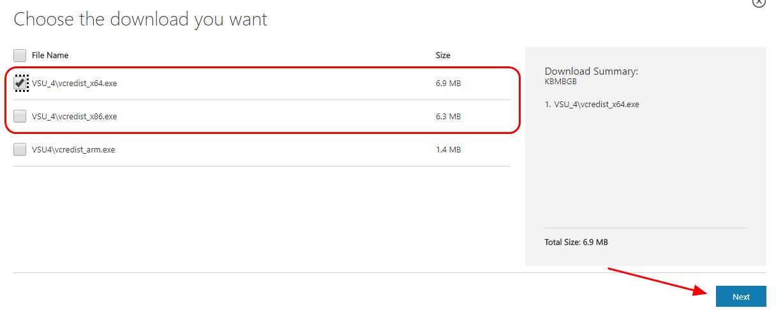 msvcr110.dll is missing wamp 32 bit