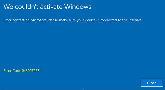 office 2010 activation error code 0xc004f074