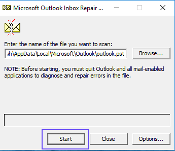 The operation failed  An object could not be found – Fix Outlook Error