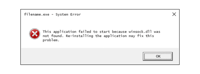 winsock-dll-error-message