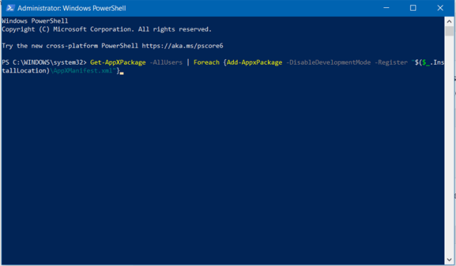re-register_windows_store_apps