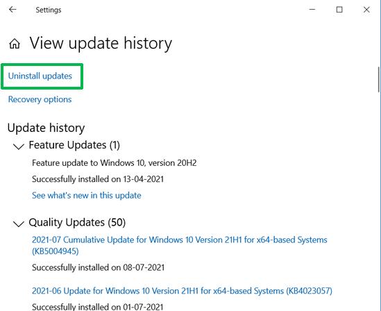 uninstall_updates