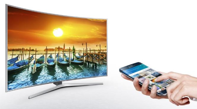 Play content from your mobile using Samsung Smart View on Smart Tv via Windows 10 and Android