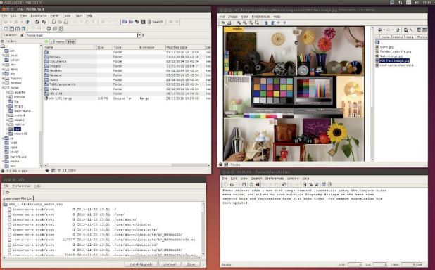XFE lightweight file manager open source linux