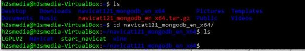 Navicat MongoDB directory