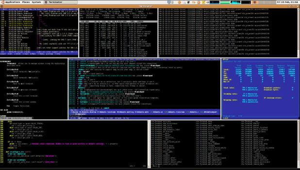 Terminator Linux Terminal