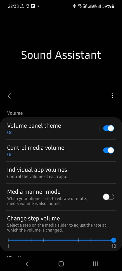 Play sound from multiple apps on Samasung Android ...